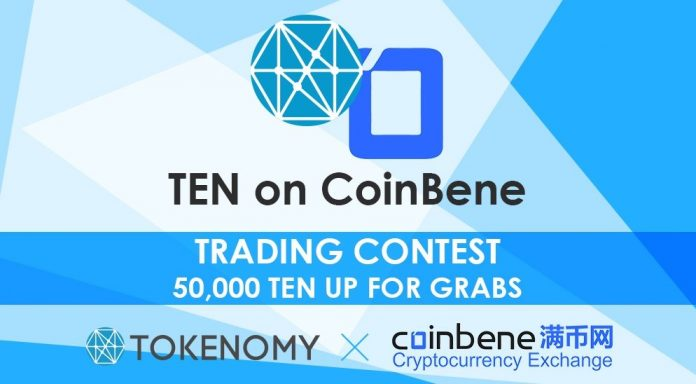 ten listing coinbene
