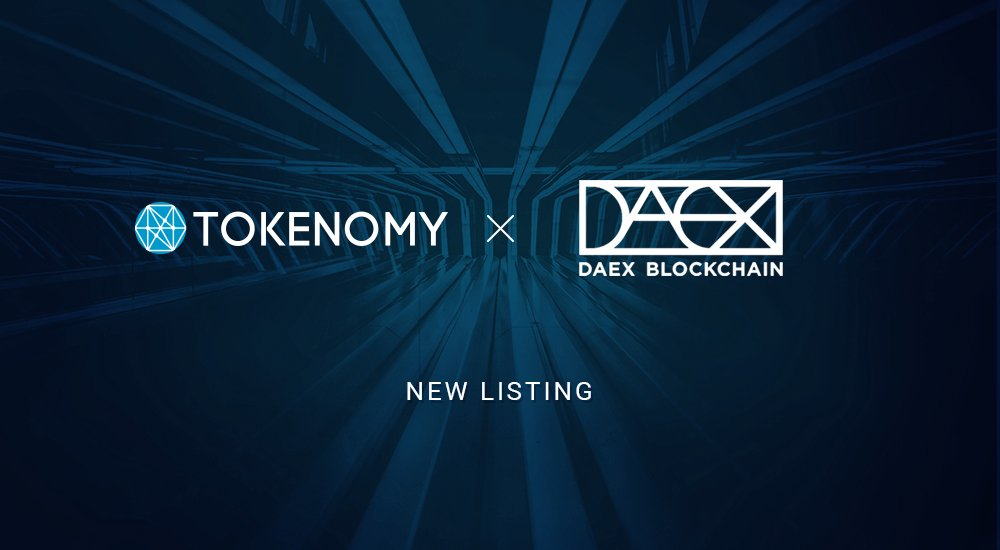daex listing in tokenomy