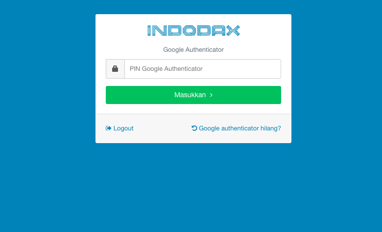 google authenticator hilang