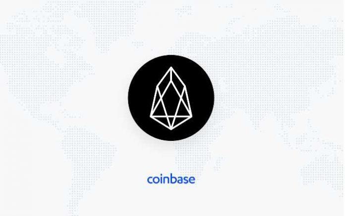 eos listing di coinbase
