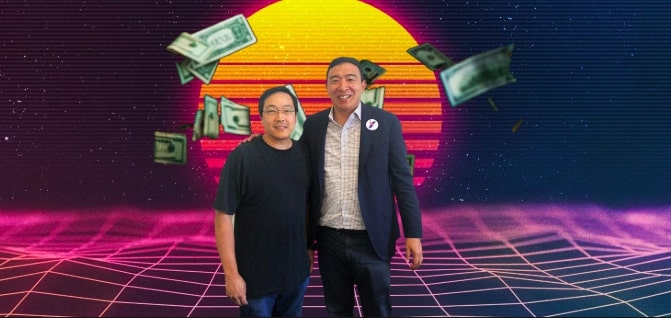 andrew yang and litecoin founder