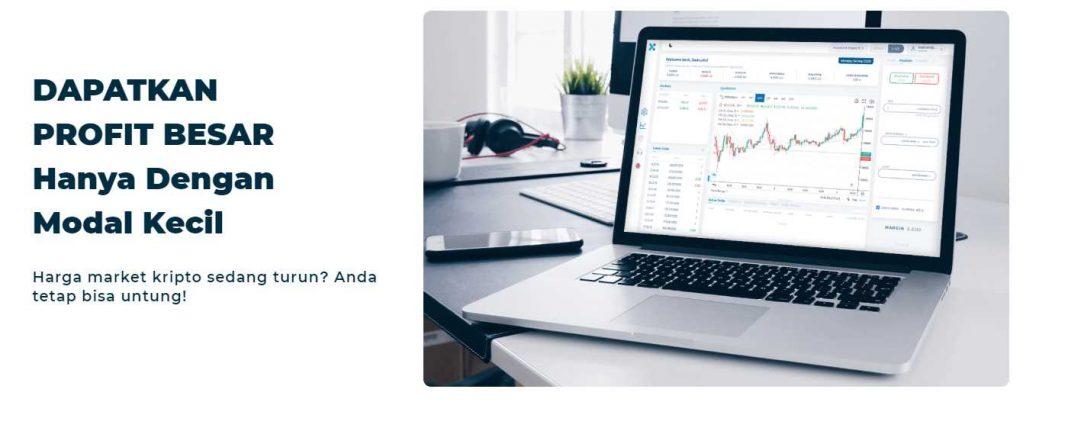 Trading Modal Kecil Tapi Untung Besar | Bitcoin Indonesia